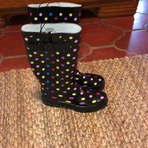 NWT Star Bay runner rain boots